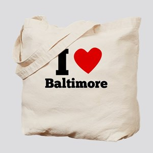 I Heart Baltimore Tote Bag