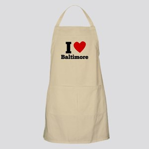 I Heart Baltimore Apron