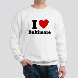 I Heart Baltimore Sweatshirt
