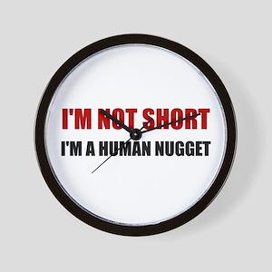 Not Short Human Nugget Wall Clock