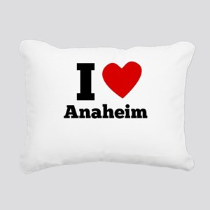 I Heart Anaheim Rectangular Canvas Pillow