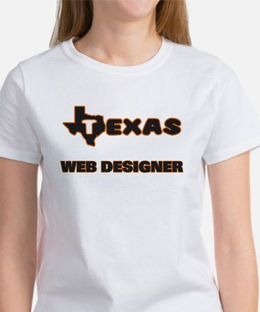 Texas Web Designer T-Shirt