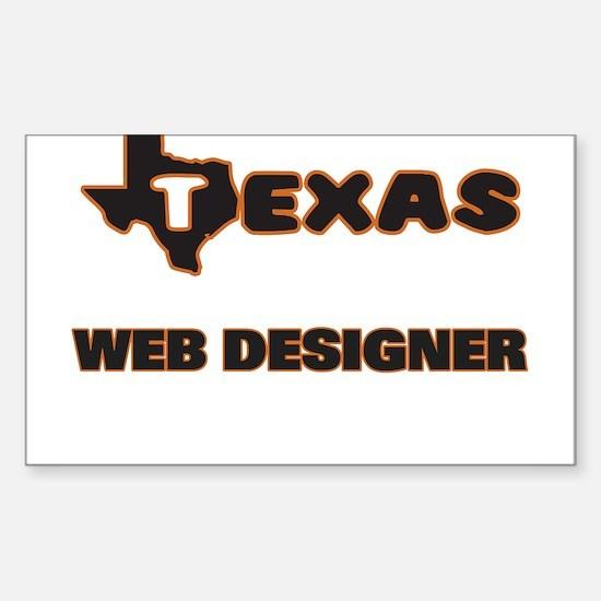 Texas Web Designer Decal