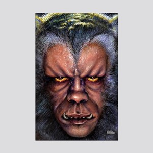 Werewolf Curse Mini Poster Print