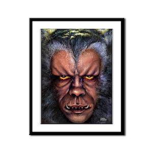 Werewolf Curse Framed Panel Print