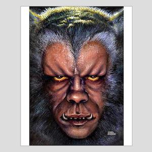 Werewolf Curse Small Poster