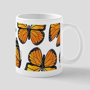 Monarch Butterfly Pattern Mug