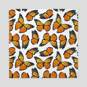 Monarch Butterfly Pattern Queen Duvet
