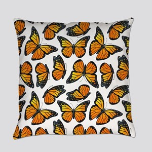 Monarch Butterfly Pattern Everyday Pillow