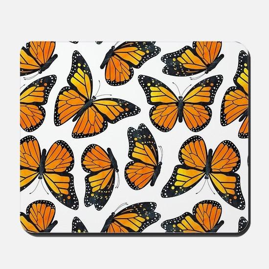 Monarch Butterfly Pattern Mousepad