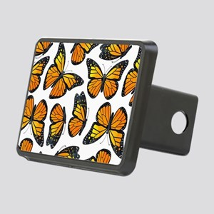 Monarch Butterfly Pattern Rectangular Hitch Cover