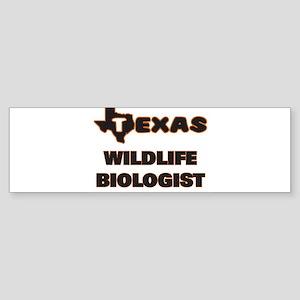 Texas Wildlife Biologist Bumper Sticker
