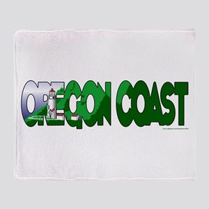 Oregon Coast Throw Blanket
