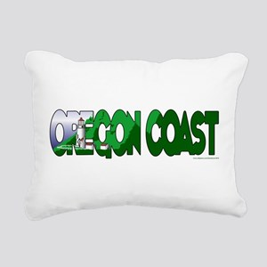 Oregon Coast Rectangular Canvas Pillow