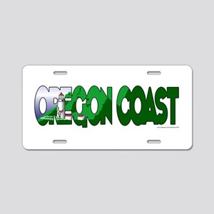Oregon Coast Aluminum License Plate