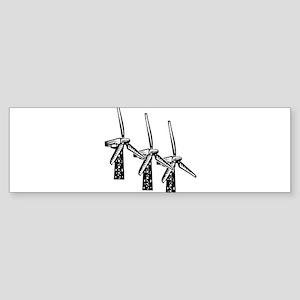 wind power is green power with 3 windmills Sti
