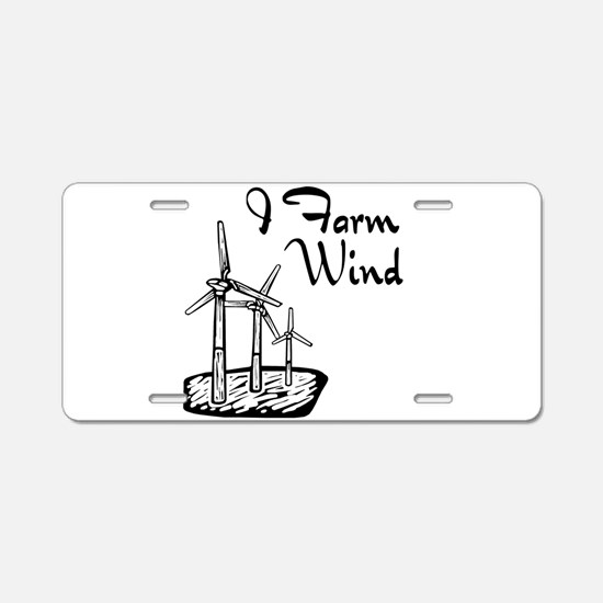 i farm wind with 3 windmills.png Aluminum License