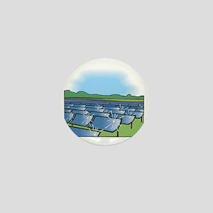 i farm solar power Mini Button