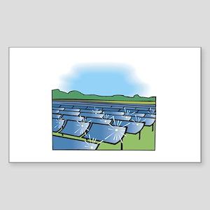i farm solar power Sticker (Rectangle)
