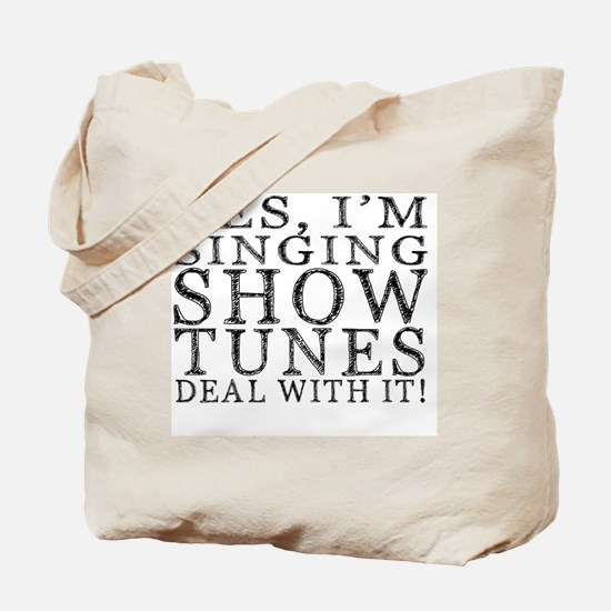 Cute Singing Tote Bag