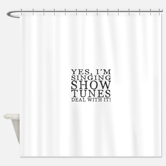 Cute Musical Shower Curtain