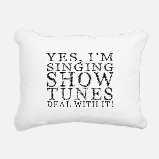Cute Musical Rectangular Canvas Pillow