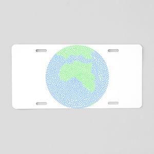 Carbon Footprint Aluminum License Plate