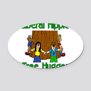 Every Color Oval Car Magnet