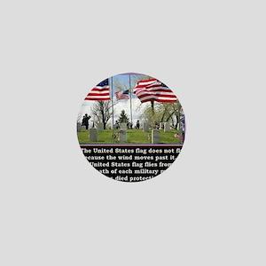 Memorial Day Mini Button