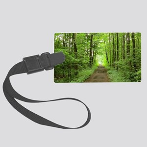 nature trail Large Luggage Tag