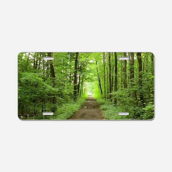 nature trail Aluminum License Plate