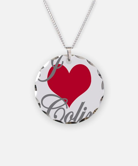 I love (heart) Colin Necklace