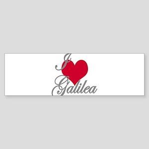 I love (heart) Galilea Sticker (Bumper)