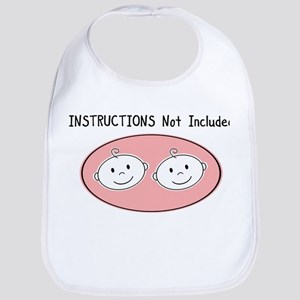 INSTRUCTIONS twins Bib