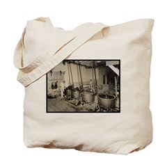 1922 - Elmer's Candy Chocolate Melting Dept. Tote