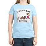 Crazy Cat Lady In Training Women's Light T-Shirt