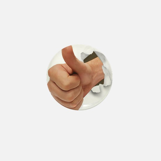 Thumbs Up Mini Button