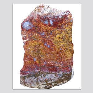 Red and Yellow Translucent Agate Posters