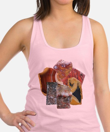 Group of Stones Racerback Tank Top