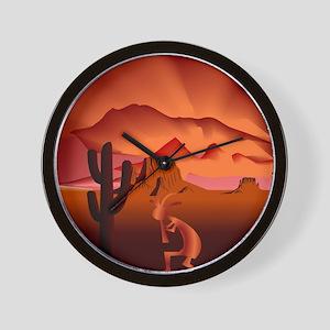 Southwest Kokopelli Wall Clock