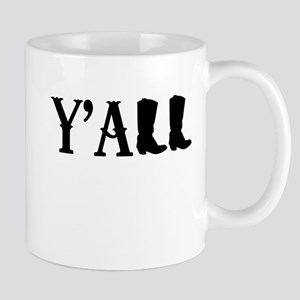 Y'All Boots Mugs