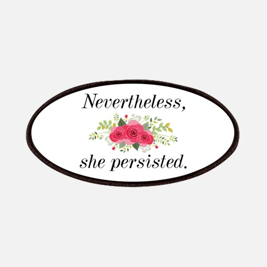 Nevertheless She Persisted Patches