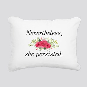 Nevertheless She Persisted Rectangular Canvas Pill