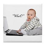 Nerd Baby Tile Coaster