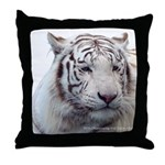 DisappearingTigerWhLG2 Throw Pillow
