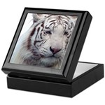 DisappearingTigerWhLG2 Keepsake Box