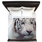 DisappearingTigerWhLG2 King Duvet
