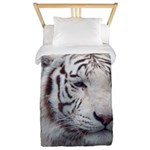 DisappearingTigerWhLG2 Twin Duvet