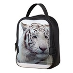 DisappearingTigerWhLG2 Neoprene Lunch Bag