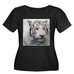 DisappearingTigerWhLG2 Plus Size T-Shirt